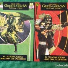 Cómics: GREEN ARROW - EL CAZADOR ACECHA 1 Y 2 - FALTA EL Nº 3 PARA ESTAR COMPLETA - EXCELENTE ESTADO. Lote 88616140