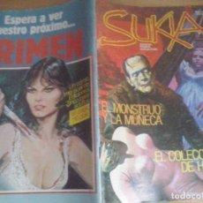 Cómics: TEBEOS Y COMICS: SUKIA Nº 24. COMIC EROTICO. EDICIONES ZINCO (ABLN). Lote 88739400