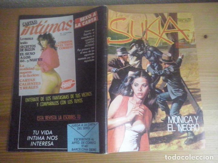 TEBEOS Y COMICS: SUKIA Nº 36. COMIC EROTICO. EDICIONES ZINCO (ABLN) (Tebeos y Comics - Zinco - Otros)