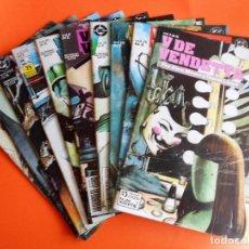 Alan Moore. V DE VENDETTA. Los diez números de la edición de 1989. Ediciones Zinco.