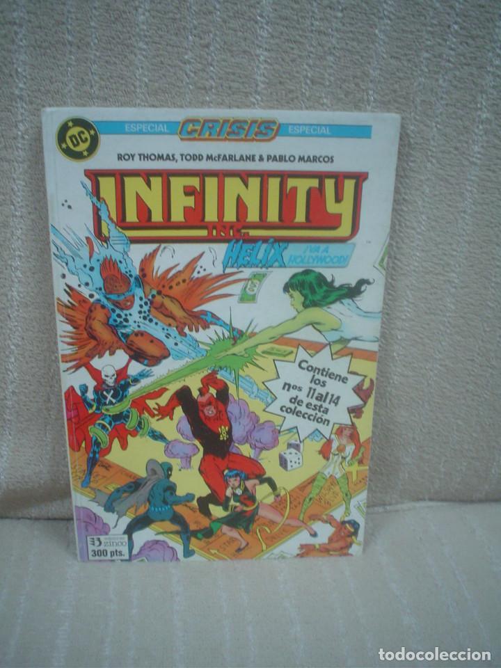 INFINITY INC. - RETAPADO CON LOS NÚMEROS 11 AL 14 (Tebeos y Comics - Zinco - Infinity Inc)