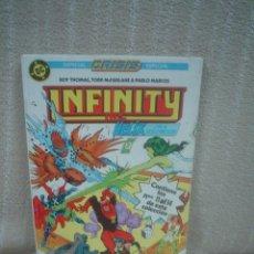Cómics: INFINITY INC. - RETAPADO CON LOS NÚMEROS 11 AL 14. Lote 88780920