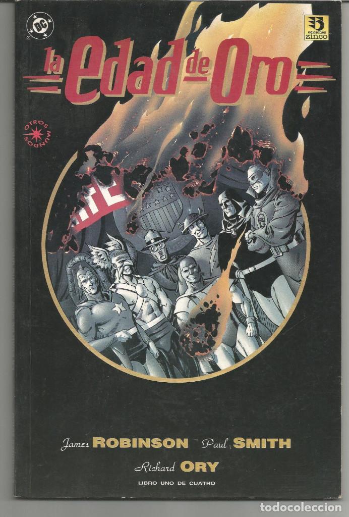 LA EDAD DE ORO OTROS MUNDOS EDICIONES ZINCO COMPLETA 4 Nº (Tebeos y Comics - Zinco - Otros)