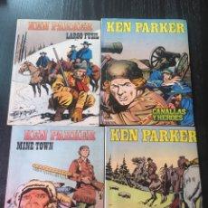 Cómics: LOTE KEN PARKER NUMERO 1,2,3,4 EDICIONES ZINCO. Lote 89388106