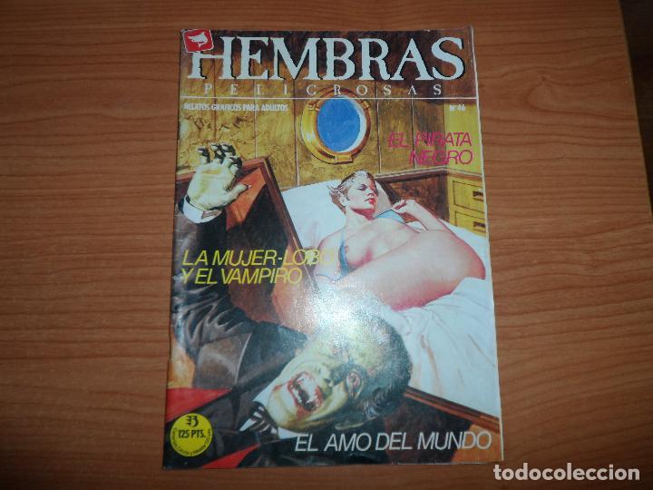 HEMBRAS PELIGROSAS Nº 46 EDICIONES ZINCO 1984 (Tebeos y Comics - Zinco - Otros)