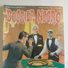 Cómics: DOSSIER NEGRO - AÑO XVI - Nº 186 - APUESTA DECISIVA Y OTROS RELATOS - AÑO 1985 - ED ZINCO. Lote 89515324