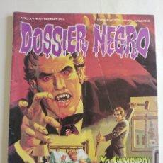 Cómics: DOSSIER NEGRO - AÑO XVI - Nº 188 - YO VAMPIRO Y OTROS RELATOS - AÑO 1985 - ED ZINCO - COMPLETO. Lote 89515624