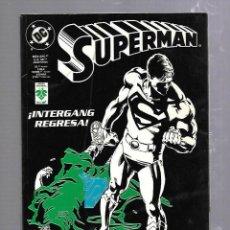 Cómics: TEBEO. SUPERMAN. MARZO 1997. DEL 9 AL 12. INTERGANG REGRESA. DC COMICS. Lote 89543316
