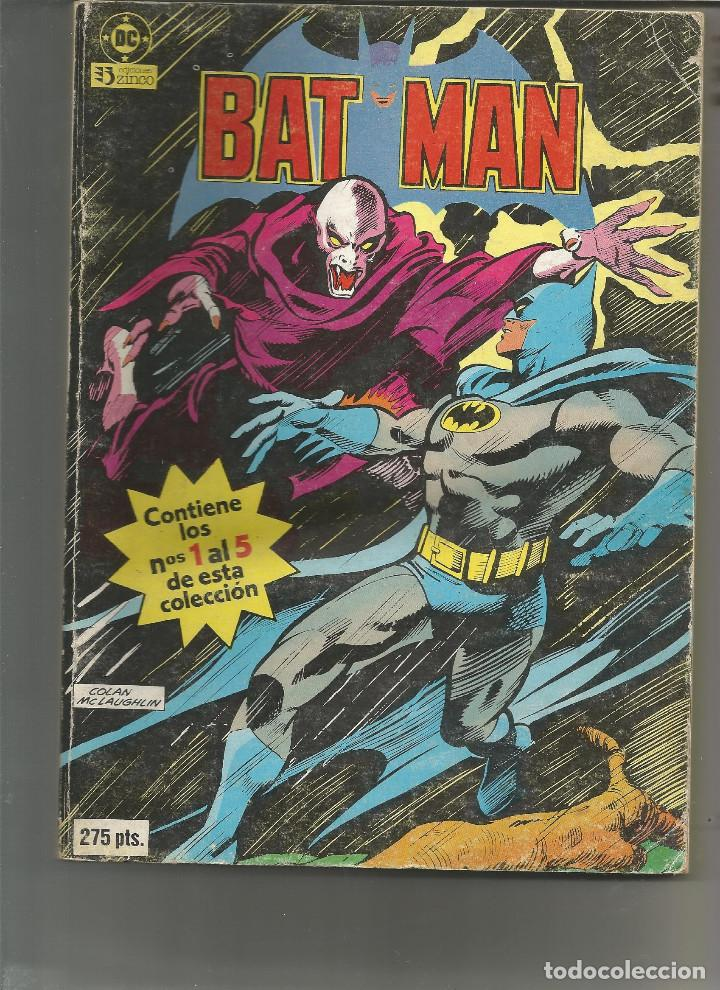 BATMAN RETAPADO Nº 1 EDICIONES ZINCO (Tebeos y Comics - Zinco - Batman)
