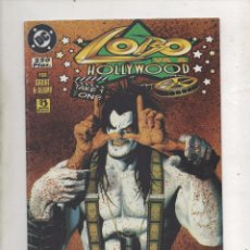 Cómics: LOBO VA A HOLLYWOOD. ALAN GRANT/CHRISTIAN ALAMY - EDICIONES ZINCO (1996).DA. Lote 90439989