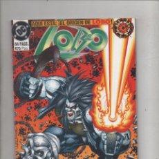 Cómics: LOBO. EL ORIGEN DE LOBO. DC COMICS.DA. Lote 90440314