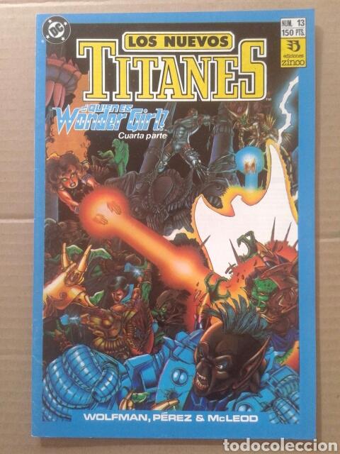 LOTE LOS NUEVOS TITANES, NÚMEROS 3-13-21-22-28-29-37-38-39-41. EDICIONES ZINCO (Tebeos y Comics - Zinco - Nuevos Titanes)