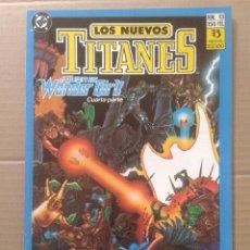 Cómics: LOTE LOS NUEVOS TITANES, NÚMEROS 3-13-21-22-28-29-37-38-39-41. EDICIONES ZINCO. Lote 90960530