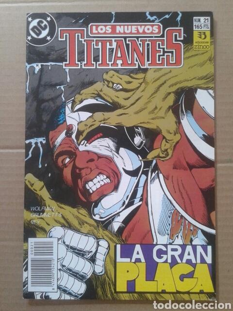 Cómics: Lote Los Nuevos Titanes, números 3-13-21-22-28-29-37-38-39-41. Ediciones Zinco - Foto 2 - 90960530