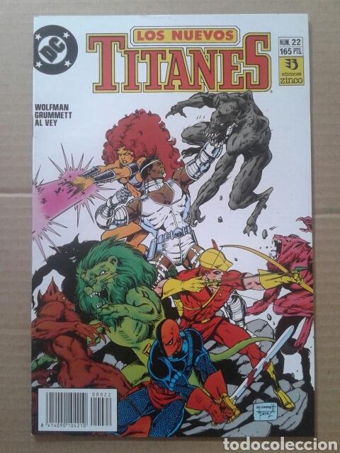Cómics: Lote Los Nuevos Titanes, números 3-13-21-22-28-29-37-38-39-41. Ediciones Zinco - Foto 3 - 90960530
