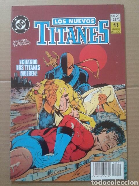 Cómics: Lote Los Nuevos Titanes, números 3-13-21-22-28-29-37-38-39-41. Ediciones Zinco - Foto 4 - 90960530
