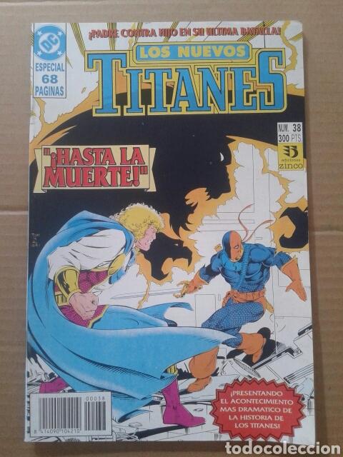 Cómics: Lote Los Nuevos Titanes, números 3-13-21-22-28-29-37-38-39-41. Ediciones Zinco - Foto 5 - 90960530