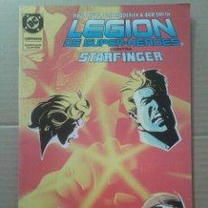 Cómics: LOTE LEGIÓN DE SUPER-HÉROES (NÚMEROS 15 Y 21), DE LEVITZ, BRODERICK Y GIFFEN. EDICIONES ZINCO. . Lote 90960747