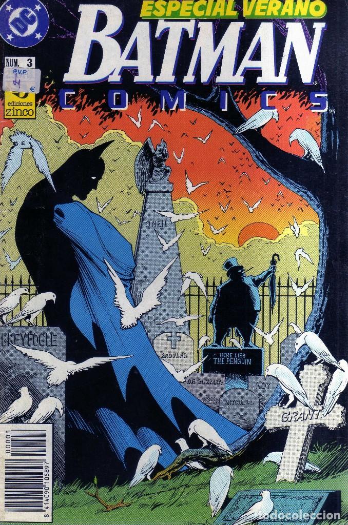 BATMAN Nº 3 - ESPECIAL VERANO - ED. ZINCO - CJ237 (Tebeos y Comics - Zinco - Batman)