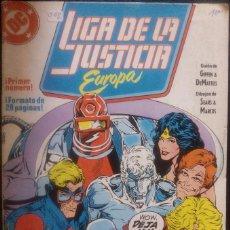 Cómics: LIGA DE LA JUSTICIA DE EUROPA LOTE PACK DE 15 CÓMICS DEL Nº 1 AL Nº 15 EDICIONES ZINCO. Lote 91340005