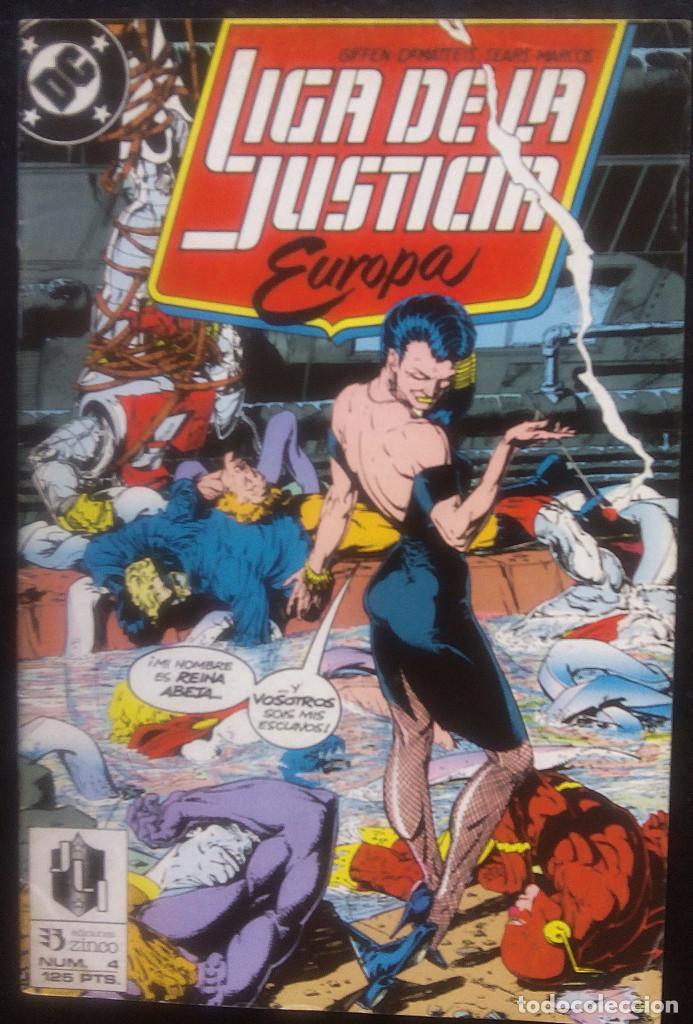 Cómics: LIGA DE LA JUSTICIA DE EUROPA LOTE PACK DE 15 CÓMICS DEL Nº 1 AL Nº 15 EDICIONES ZINCO - Foto 4 - 91340005
