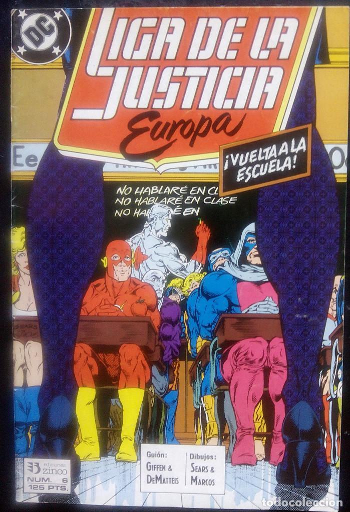 Cómics: LIGA DE LA JUSTICIA DE EUROPA LOTE PACK DE 15 CÓMICS DEL Nº 1 AL Nº 15 EDICIONES ZINCO - Foto 6 - 91340005