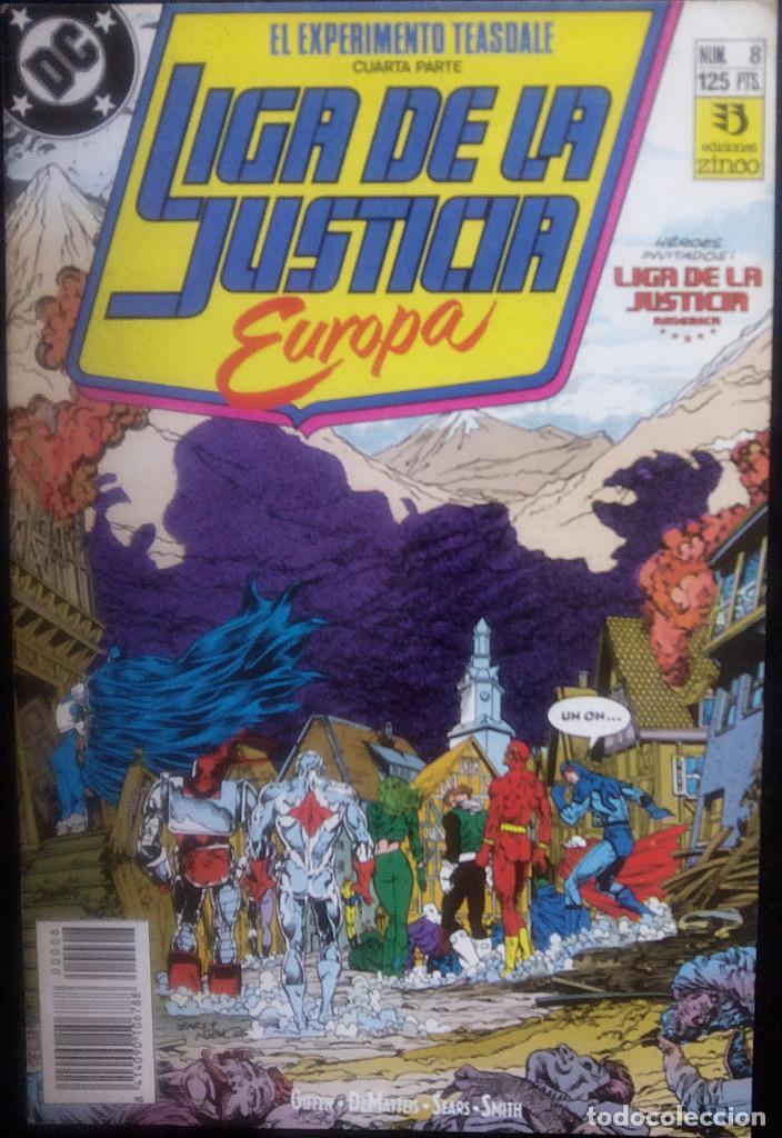 Cómics: LIGA DE LA JUSTICIA DE EUROPA LOTE PACK DE 15 CÓMICS DEL Nº 1 AL Nº 15 EDICIONES ZINCO - Foto 8 - 91340005