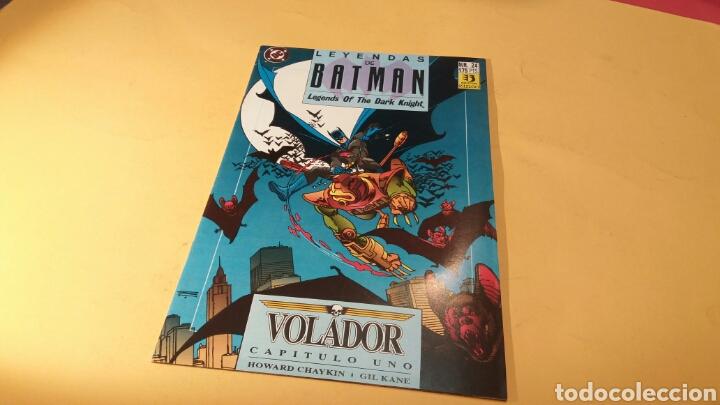 EXCELENTE ESTADO LEYENDAS DE BATMAN 24 VOLADOR CAPITULO UNO EDICIONES ZINCO (Tebeos y Comics - Zinco - Batman)