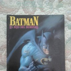 Cómics: BATMAN EL HIJO DEL INFIERNO, DE MIKE W. BARR Y JERRY BINGHAM. Lote 91610710