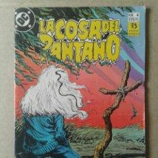 Cómics: LA COSA DEL PANTANO N°4, DE ALAN MOORE Y RICK VEITCH (EDICIONES ZINCO).. Lote 91624660