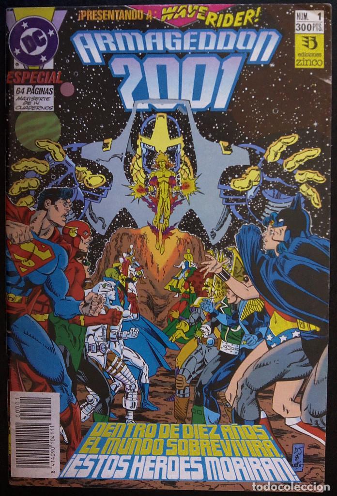 ARMAGEDDON 2001 LOTE PACK DE 13 CÓMICS ESPECIALES EDITORIAL ZINCO (Tebeos y Comics - Zinco - Otros)