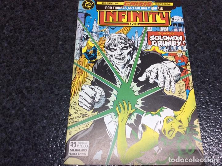 INFINITY INC. Nº 20 DC - EDICIONES ZINCO (Tebeos y Comics - Zinco - Infinity Inc)