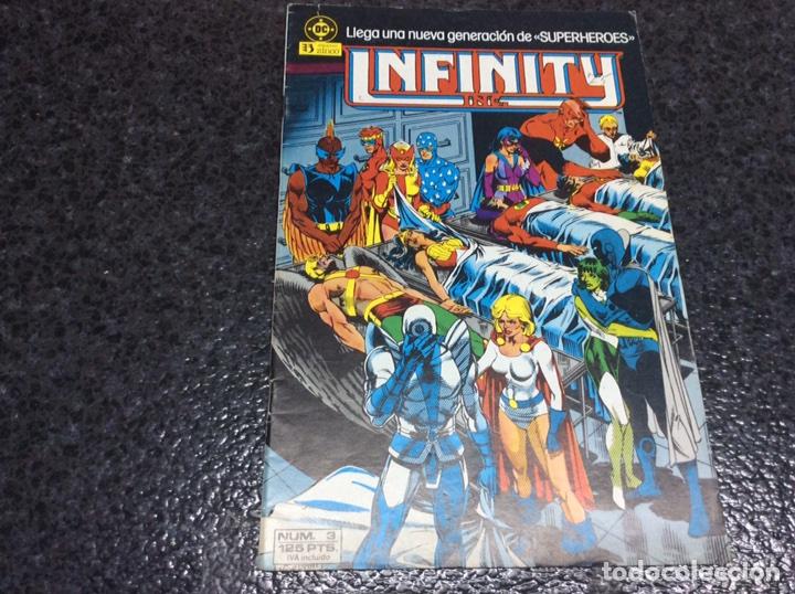 INFINITY INC. Nº 3 DC - EDICIONES ZINCO (Tebeos y Comics - Zinco - Infinity Inc)