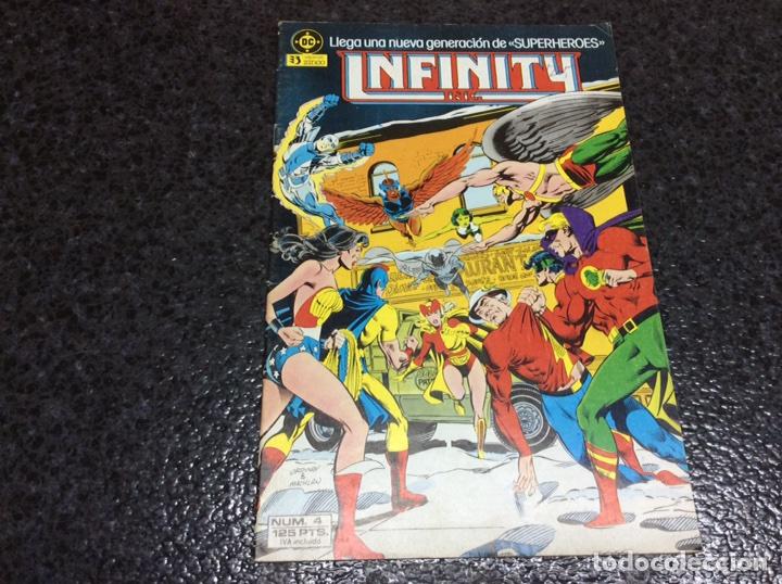 INFINITY INC. Nº 4 DC - EDICIONES ZINCO (Tebeos y Comics - Zinco - Infinity Inc)