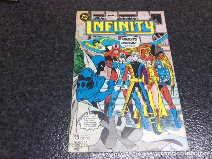 INFINITY INC. Nº 11 DC - EDICIONES ZINCO (Tebeos y Comics - Zinco - Infinity Inc)
