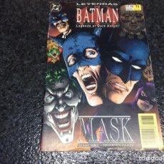 Cómics: LEYENDAS DE BATMAN Nº 38 MASK -EDITA : ZINCO - DC. Lote 92054210