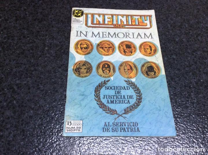 INFINITY INC. Nº 22 DC - EDICIONES ZINCO (Tebeos y Comics - Zinco - Infinity Inc)