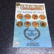 Comics: INFINITY INC. Nº 22 DC - EDICIONES ZINCO. Lote 131080320