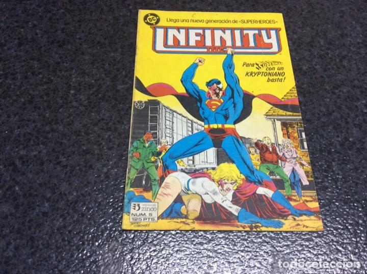 INFINITY INC. Nº 5 DC - EDICIONES ZINCO (Tebeos y Comics - Zinco - Infinity Inc)