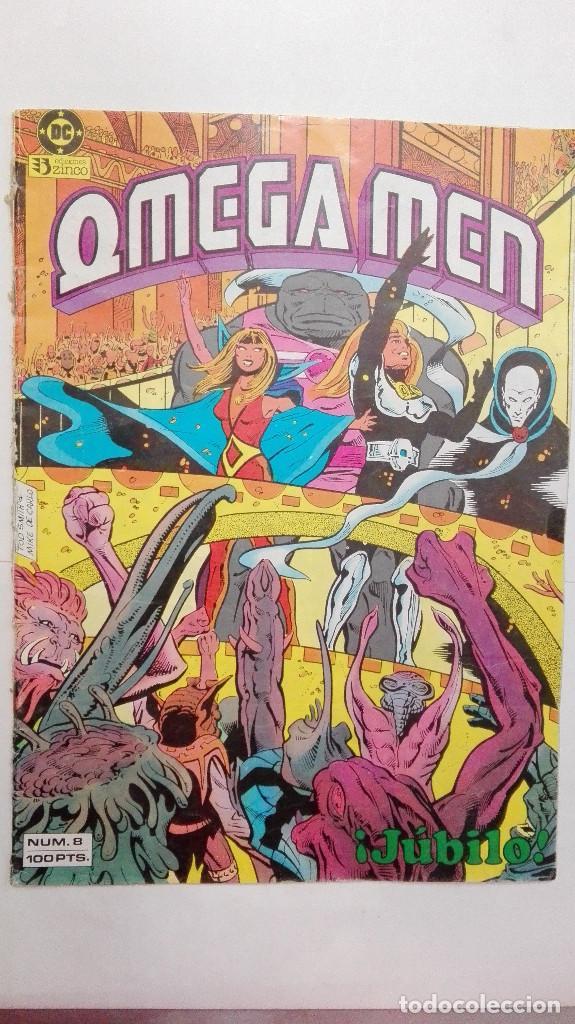 OMEGA-MEN Nº 8. 1985. 34 PP. (Tebeos y Comics - Zinco - Otros)