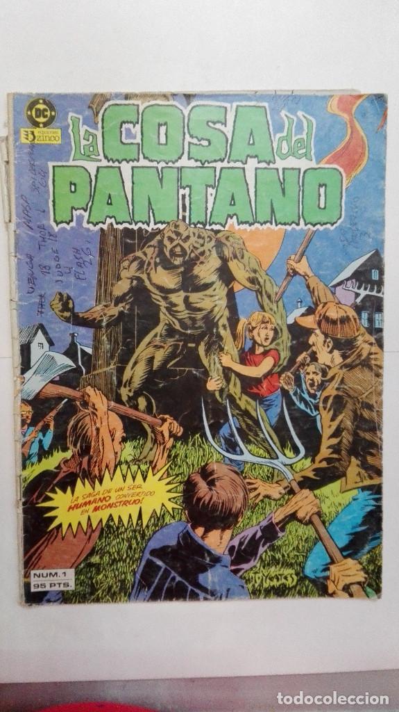 LA COSA DEL PANTANO N 1 (Tebeos y Comics - Zinco - Cosa del Pantano)
