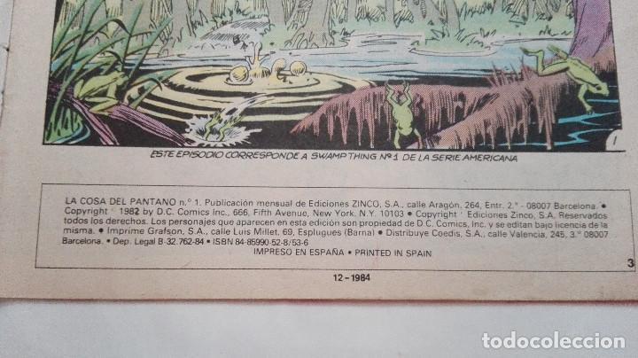 Cómics: la cosa del pantano n 1 - Foto 2 - 92190495