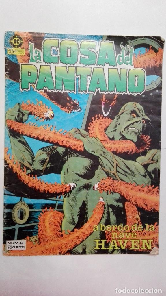 COMIC - LA COSA DEL PANTANO N 6 - ZINCO (Tebeos y Comics - Zinco - Cosa del Pantano)