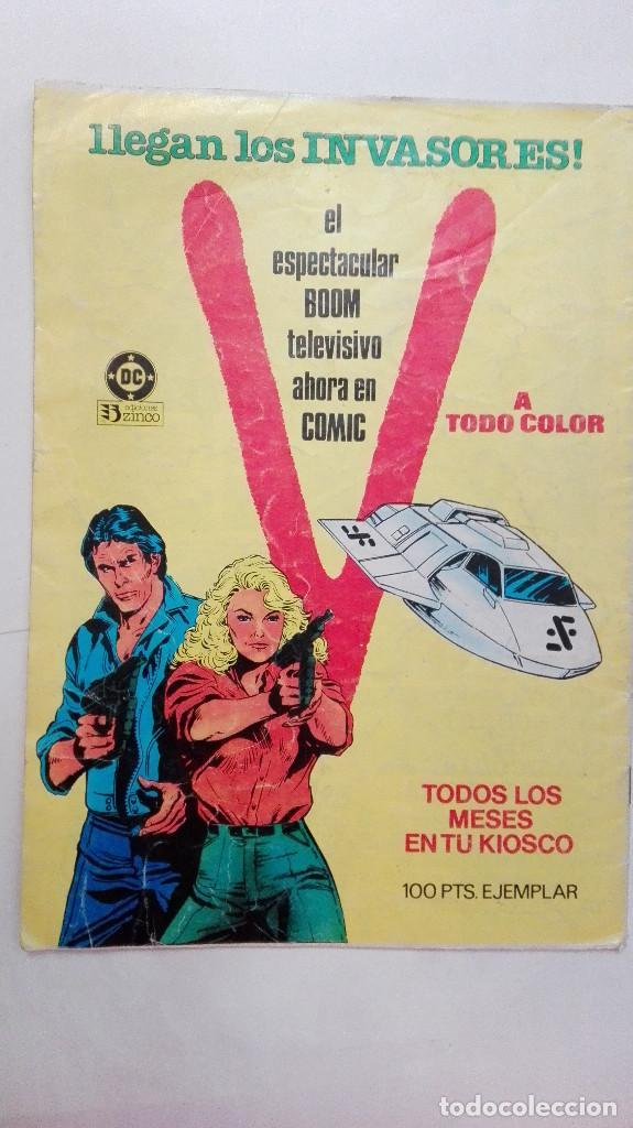 Cómics: COMIC - LA COSA DEL PANTANO N 6 - ZINCO - Foto 2 - 92200905