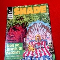 Cómics: SHADE - TODOS LOS ASESINOS DEL PRESIDENTE. DC ZINCO. Lote 92356669