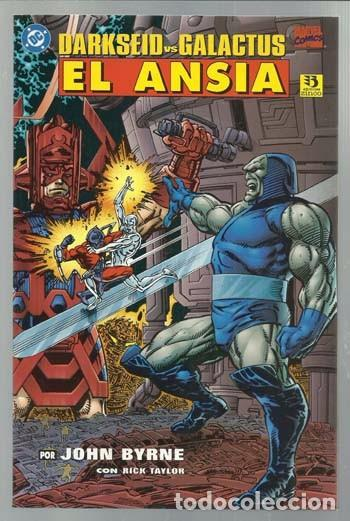 DARKSEID VS GALACTUS: EL ANSIA, 1996, ZINCO, IMPECABLE (Tebeos y Comics - Zinco - Prestiges y Tomos)