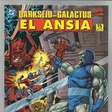 Comics: DARKSEID VS GALACTUS: EL ANSIA, 1996, ZINCO, IMPECABLE. Lote 146209165