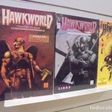 Cómics: HAWKWORLD COMPLETA 3 TOMOS - ZINCO OFERTA. Lote 151883661