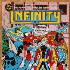 Cómics: INFINITY INC. - DC COMICS - ZINCO - NUMERO 11 - COMO NUEVO - NM. Lote 93143025