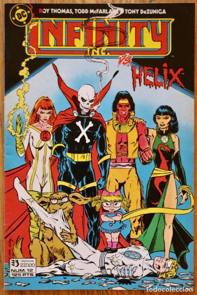 INFINITY INC. - DC COMICS - ZINCO - NUMERO 12 - COMO NUEVO - NM (Tebeos y Comics - Zinco - Infinity Inc)